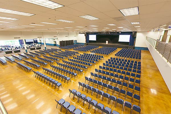 Seaside Convention Center Virtual Tour-mezzanine