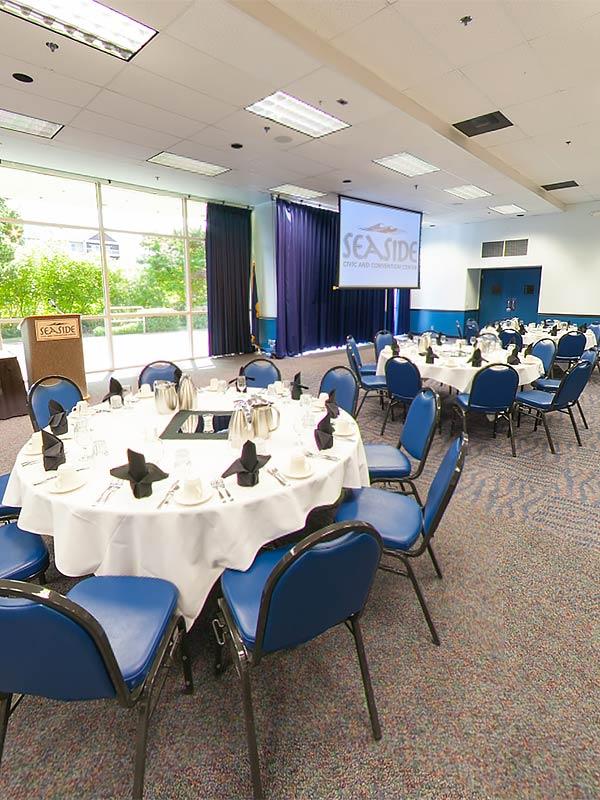Seaside Convention Center Virtual Tour-necanium