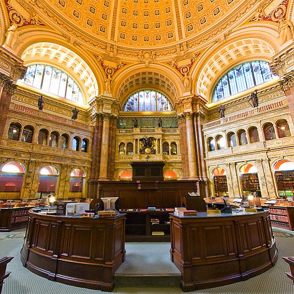 Library of Congress Virtual Tour