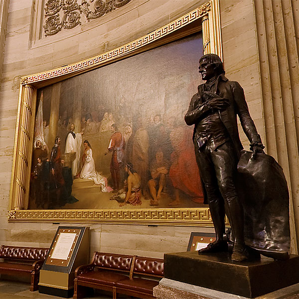 US Capitol Rotunda Virtual Tour