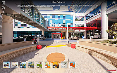 CHOC Childrens Hospital Virtual Tours