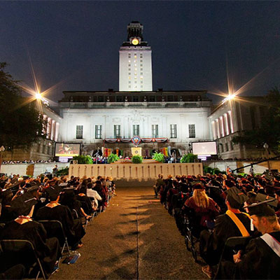 University of Texas Commencement Virtual Tour