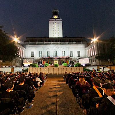 University of Texas Commencement Virtual Tour