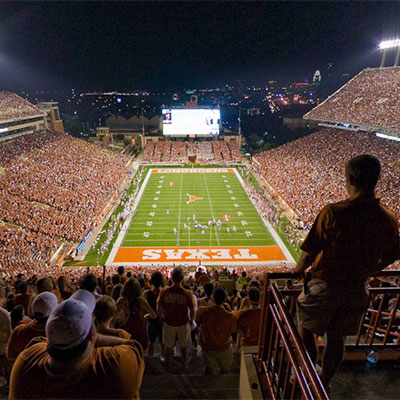 University of Texas Game Virtual Tour
