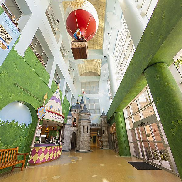 Arnold Palmer Hospital Grand Atrium Tour