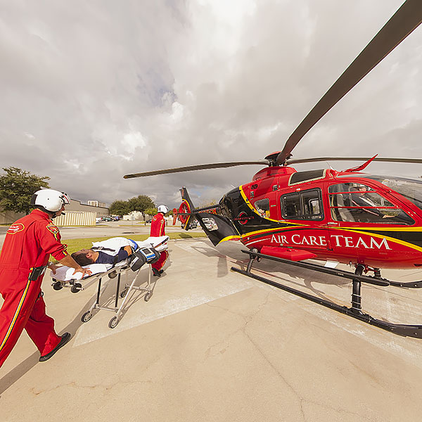 Orlando Health Helicopter Tour