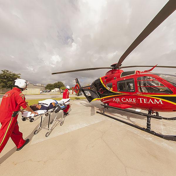 Orlando Health Helicopter Tour