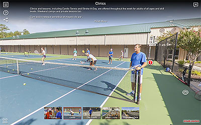 Sea Colony Tennis Virtual Tour