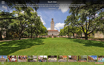 University of Texas Campus Virtual Tours