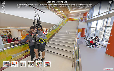 Virtual Tour of Shirley Ryan AbilityLab