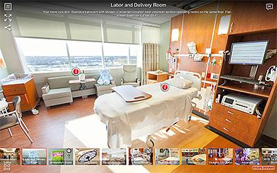 Amita Maternity Virtual Tours