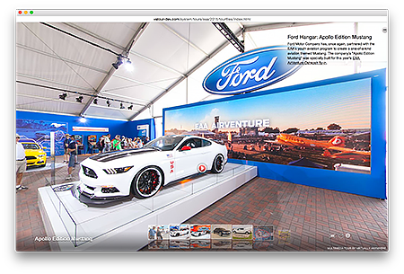 Ford Trade Show Booth Virtual Tours