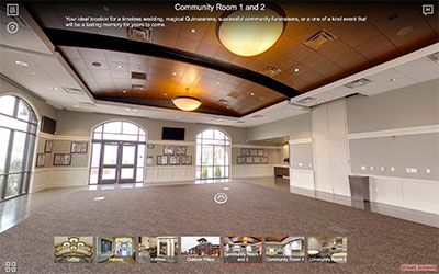 Manteca Transit Center Event Space Virtual Tour