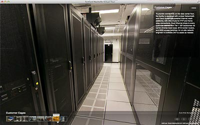 360° Virtual Tours and 360° Video for Data Centers