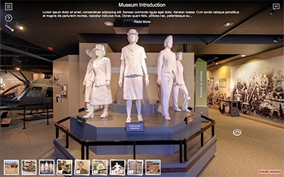 360° Virtual Tours and 360° Video for Museums and gallery Spaces