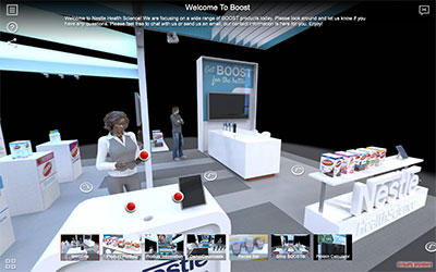 Immersive 360 Virtual Trade Show Booth