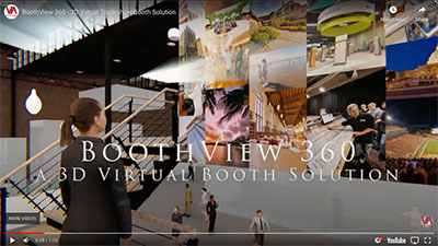 Virtual Trade Show Booth Video